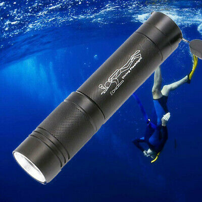 50m 5000LM Unterwasser T6 LED Tauchen Taschenlampe Flashlight Diving Licht 18650