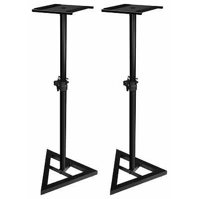 Adam Hall SKDB039 V2 Adjustable Speaker Stands (Pair) - Free Delivery