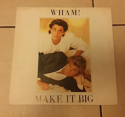 Wham!‎ – Make It Big - Epic ‎EPC 86311 - 1984 -