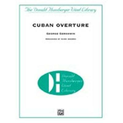 Alfred Publishing 00-DHM012 cubana Overture Music Book
