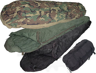 4-Piece -40° Modular Sleep System MSS Military Sleeping Bag w/ Goretex bivy