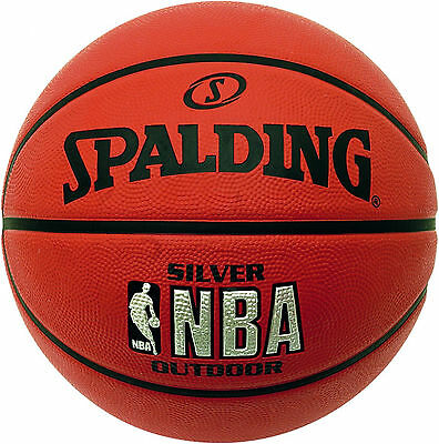 NBA Street Basketball Spalding Official Size 7 Indoor Outdoor Sport Durable Ball