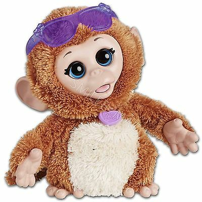 FurReal Friends Baby Cuddles My Giggly Monkey Pet Fur Real Fureal Plush Toy
