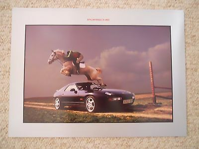 1994 Porsche 928 Coupe Showroom Advertising Sales Poster RARE!! Awesome L@@K