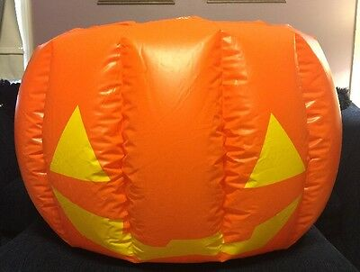 Mars M & M Company Double Sided Enormous Inflatable Halloween Pumpkin - Blow Up