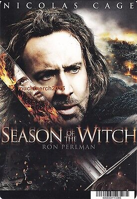 """SEASON OF THE WITCH Movie Placard from Video Rental Store 5.5"""" x 8"""""""
