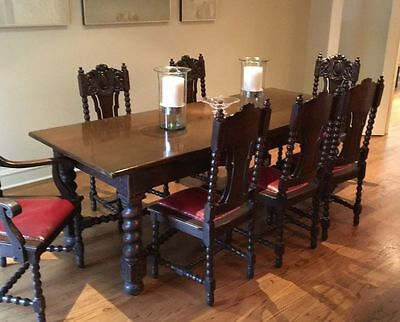 Dining Table (Dark Wood)