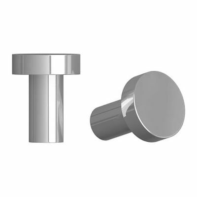 IKEA ATTEST Knob Stainless steel colour 20 mm