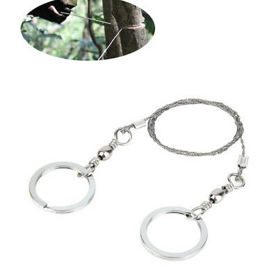 Steel Wire Saw Survival Camping Hiking Military Army Tool scouts Bushcraft UK