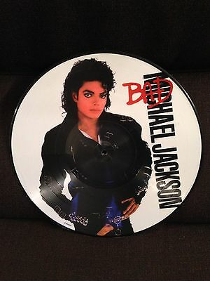 "MICHAEL JACKSON ""BAD"" LP 33 picture disc"