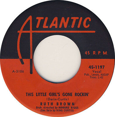 This little girls gone rockin' Ruth Brown *HOT JIVER*