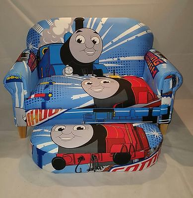 thomas the tank engine bespoke 2 seater sofa and stool duvet