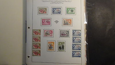 Ghana  Stamp collection on various pages and stock, glassines