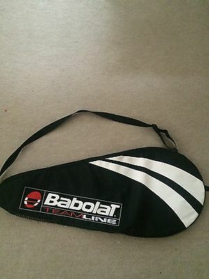 Babolat TeamLine Single Tennis Racket Bag Cover. Padded. Size 3:4 3/8