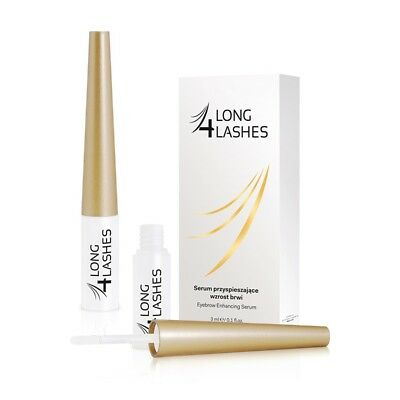 LONG 4 LASHES EYEBROW SERUM THICKENS, STRENGTHENS AND IMPROVES CONDITION 3 ml