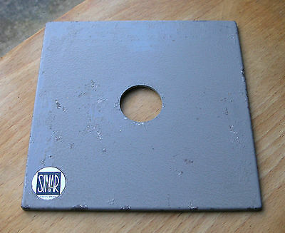 genuine sinar monorail made lens board panel for  compur 00 used