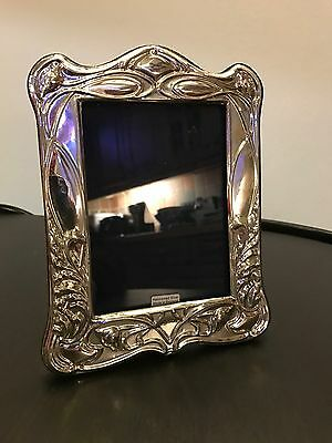 Stylish Hallmarked Silver Photo Frame Open To Offers.
