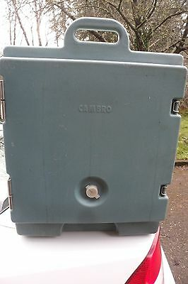 """Cambro 1318MTC110 ? Camcarrier Food Pan Carrier For Half Size?, NSF 24x16.5x20"""""""