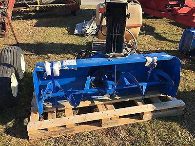"63"" New Holland 63CSH Snow Blower w/ Subframe for a TC33 Super Steer Tractor"