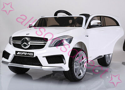 Licensed Mercedes Benz A45 Amg 12V Electric Kids Childs Ride On Car With Remote