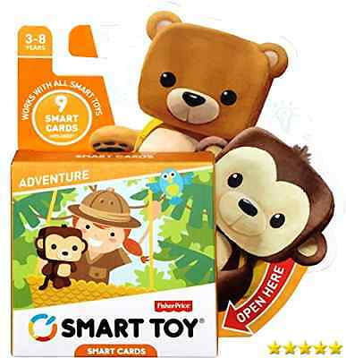 Fisher-Price Smart Cards - Adventure Trading, set, 1, 2, box, packs, sealed