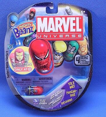 New - Sealed  Mighty Beanz 2010 Marvel Universe 4 Pack
