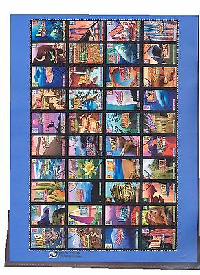 #4033-72 39c Wonders of America Sheet USPS #0628 Souvenir Page