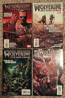 Wolverine, Old Man Logan #66, 67, 69 and 71 - New Logan Movie Coming HOT BOOKS
