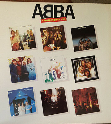Abba - A Collection Of Hits Lp Album- Rare! Us Promo From 1982