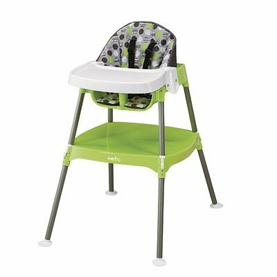 CONVERTIBLE HIGH CHAIR BABY TABLE SEAT BOOSTER TODDLER FEEDING HIGHCHAIR 3 in 1