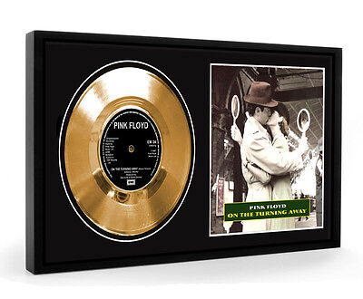 Pink Floyd On The Turning Away Framed Gold Disc Display Vinyl (LO)