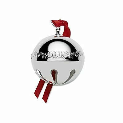 WALLACE ANNUAL SILVER PLATED SLEIGH BELL 2016 NEW 46th EDITION NIB 5171043