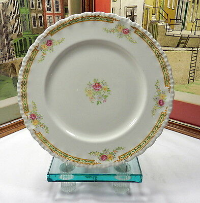 "Grindley England ""the Kavalla"" Pattern 10"" Scalloped Rim Plate 1936-1954"