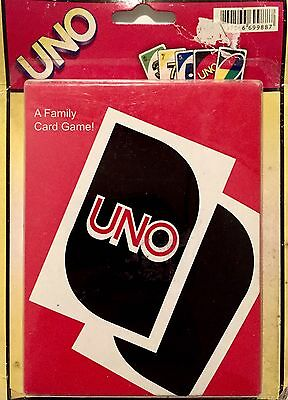 Vintage UNO Card Game NEW in Packaging Original Family Game