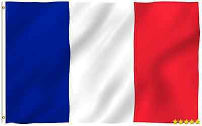 3ft x 5ft France Flag - Polyester - 3x5 French Flag Poly New