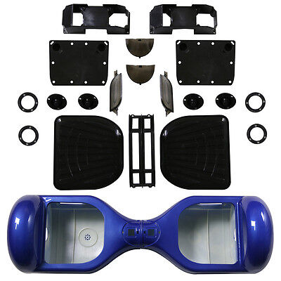 "Blue Outer Shell Cover Case 6.5"" 2 Wheel Self Balancing Scooter HoverBoard Cover"