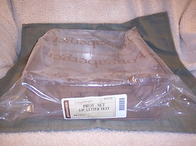 Longaberger  LETTER TRAY DIVIDED PROTECTOR - RETIRED