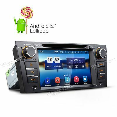 "RADIO BLUETOOTH WIFI BT 3G SD For BMW E90-E93 7"" HD Android 5.1 Car DVD Player F"