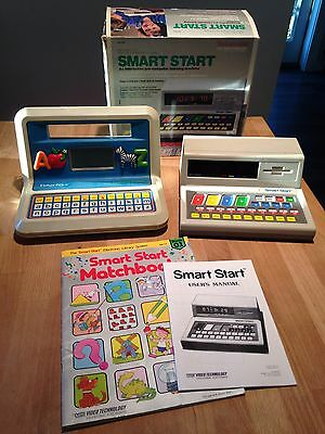 2 Vintage 1987 Computers Fisher Price Spelling Starter & Vtech Smart Start
