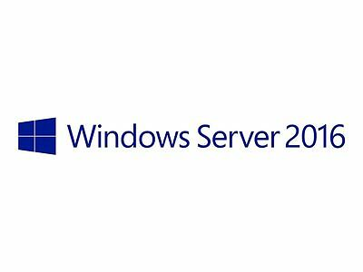 Microsoft Windows Server 2016 Essentials Licence 2 sockets OEM ROK For use with