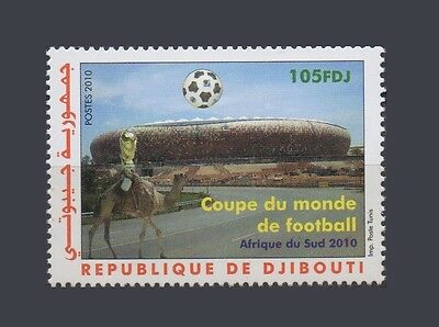 Djibouti Soccer World Cup South Africa Football Coupe Monde 2010 Mnh ** Rare