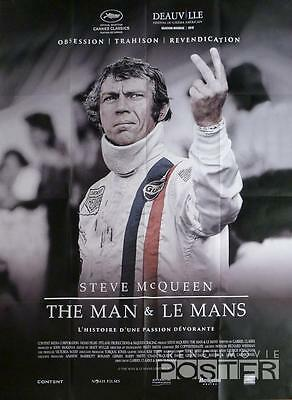 Le Mans - Steve Mcqueen - Car Racing - Large French Movie Poster