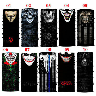 10 pcs/1pcs Face Shield Sun Mask Balaclava Neck Gaiter Bandana Neckerchief
