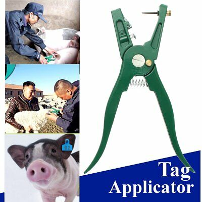 Multi Ear Marking Tag Applicator Plier Veterinary Instruments Tool for Cow Sheep