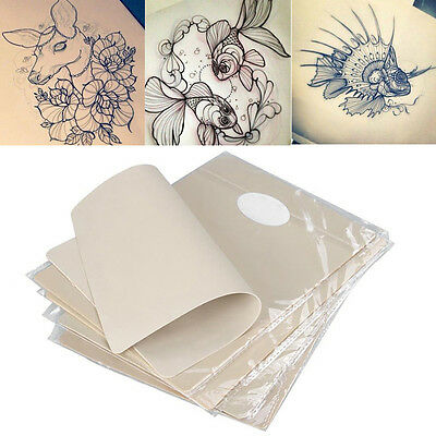 "10pcs 8""x6"" Dual Side Premium Blank Tattoo Practice Skin For Needle Machine Tool"