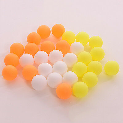 10/50X Assorted Color Plastic Table Tennis Colorful Ping Pong Balls 0cnluo hcuk