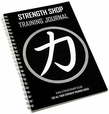 Strength Shop Training Journal / Diary / Notepad / Log Book - Progress planner
