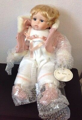 Leonardo Collection Porcelain Baby Doll