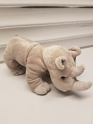 Charming Cute Rhino / Rhinoceroses Plush Soft Toy, Brand New With Tags