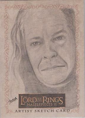 """Lord of the Rings Masterpieces II - Taki Soma """"Denethor"""" Sketch Card"""